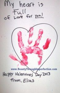 Valentines Day craft for toddlers -