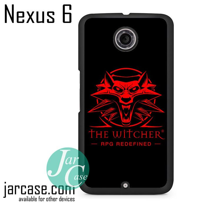 The Witcher Rpg Redefined Phone case for Nexus 4/5/6