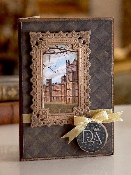 Downton Abbey Papercrafting - #Dies #Cardmaking #Crafting #Hobbies #Arts #Hochanda #Crafts #Pens #Hobby #Art #lifestyle #CraftersCompanion #DowntonAbbey - www.hochanda.com/