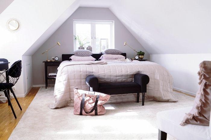 sovrum greige simplicity helhet