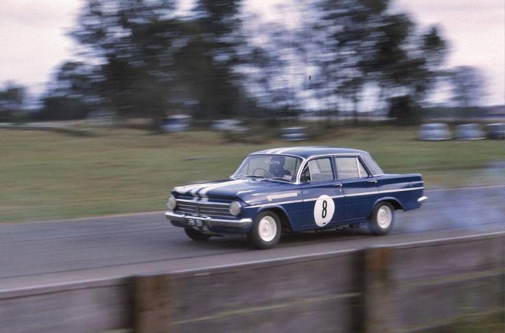 Norm Beechey Warick Farm NSW Feb 1964 EH Holden