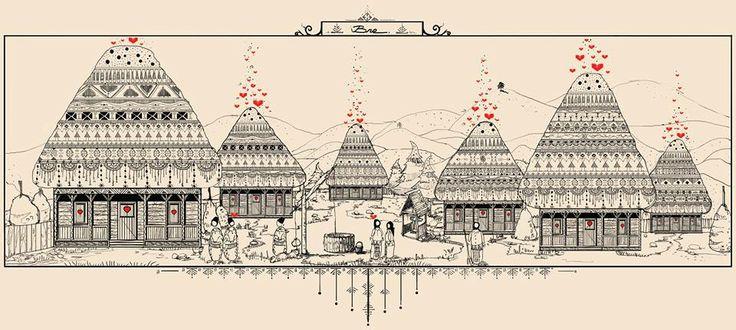 The Dragobete Village