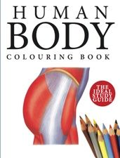 Learning through colouring in, discover how the individual parts of the human body function in this medical reference book with a difference.  The book features 215 scientifically precise colour artworks accompanied by 215 highly accurate line drawings, organized by body area: head, neck, thorax, upper limbs, abdomen, reproductive system, pelvis, lower limbs and whole body systems.