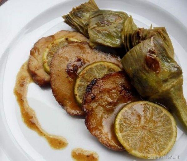 Cambia Menu » Seitan ai carciofi e limone | Ricette