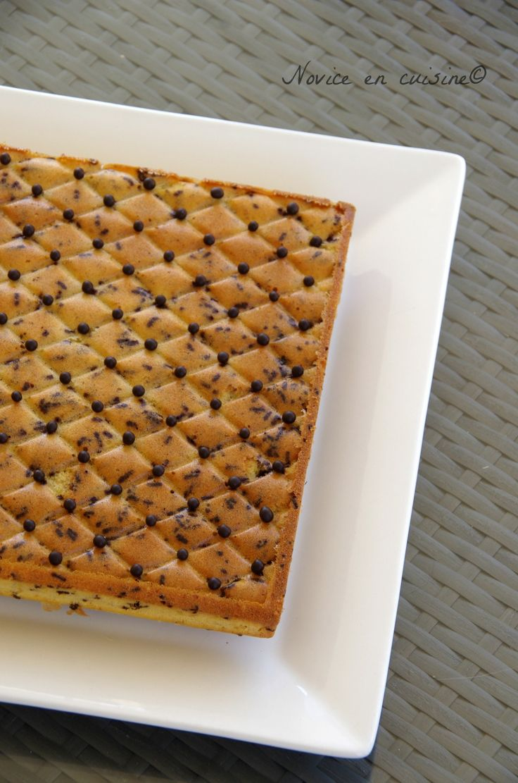 Gâteau pistache et chocolat au mascarpone - Le blog de novice en cuisine