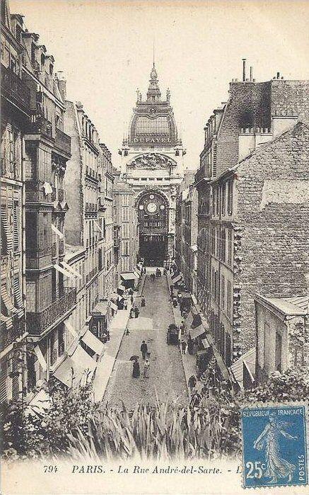 rue André-del-Sarte - Paris 18e