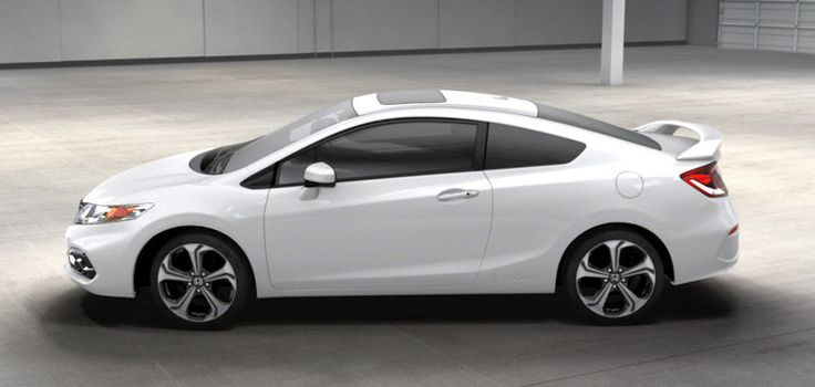 Honda Civic SI 2014 Coupe White