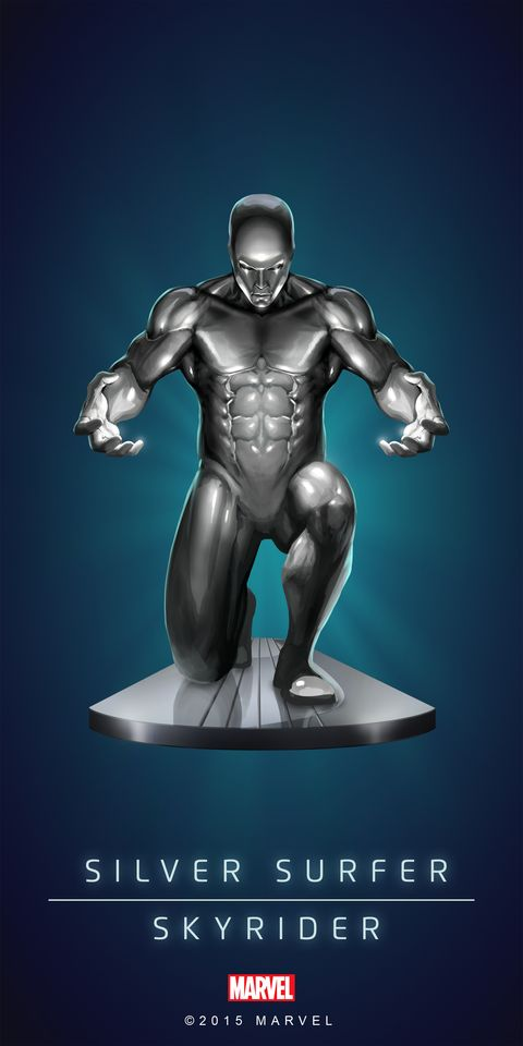 Silver Surfer ... Marvel Puzzle Quest °°