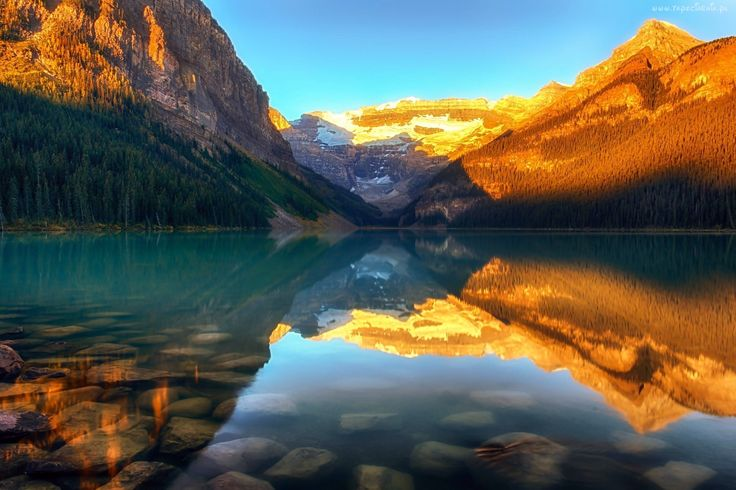 Góry, Las, Jezioro