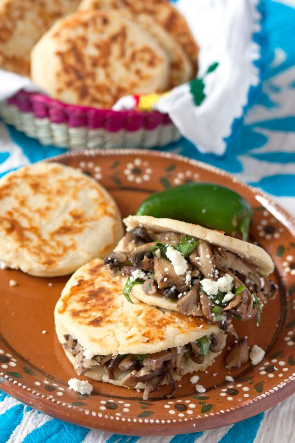 Arepas are a typical Venezuelan and Colombian dish and wasn't something I grew up eating. Traditional arepas are made with arepa flour or cornmeal, but I made these with masa harina (corn flour), which is readily available and gives them a Mexican twist. Masa harina is commonly used to make corn tortillas, sopes, and tamales …