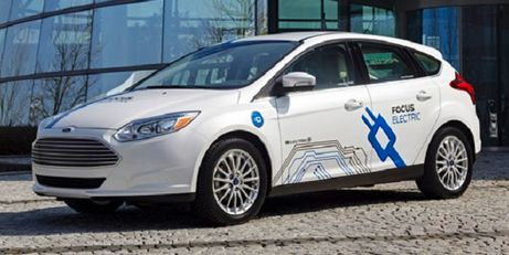 2016 Ford Focus Electric in UK