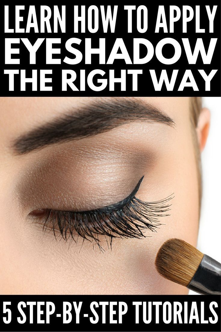 If you want to know how to apply eyeshadow like a pro, this collection of simple and easy step-by-step tutorials for beginners is for you! Regardless of the color (blue, green, brown) and shape (hooded or monolid) of your eyes, and your personal style (na