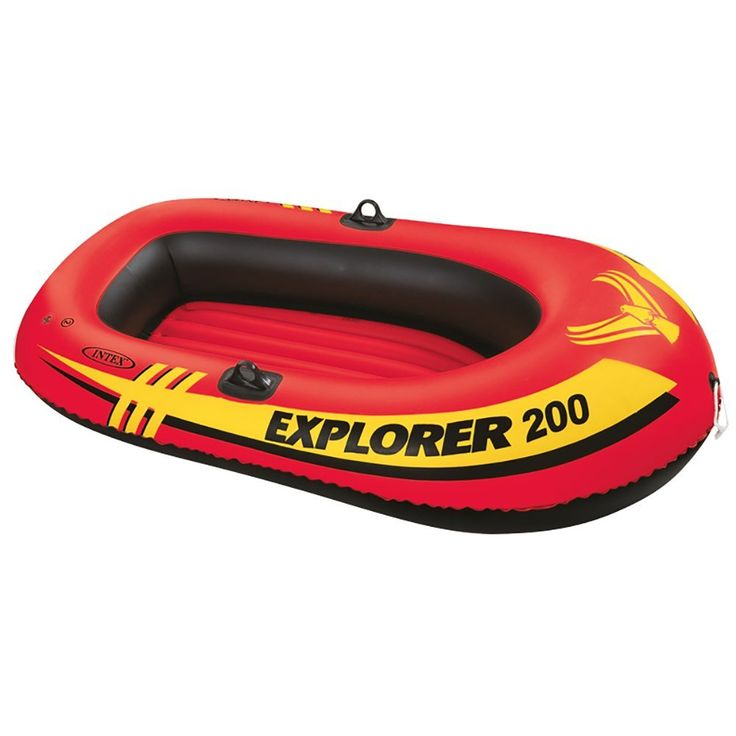 Intex Explorer 200, 2-Person Inflatable Boat Set with French Oars and Mini Air Pump : Open Water Inflatable Rafts : http://amzn.to/2st2t8c