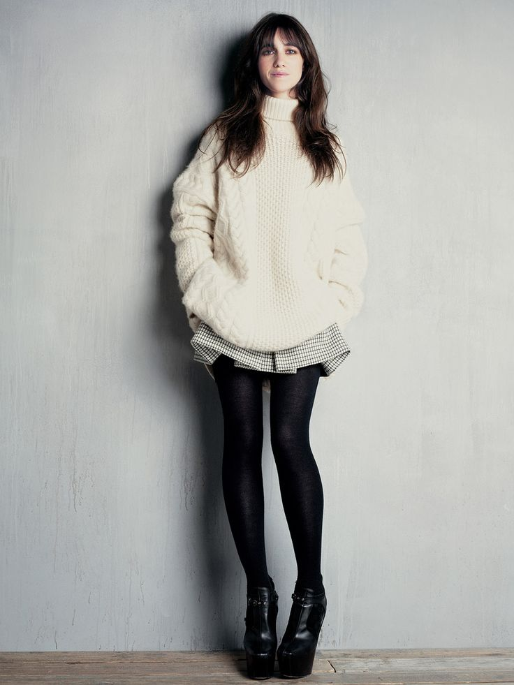 French Girl Style Muse - Charlotte Gainsbourg