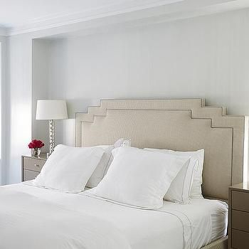Gray and Taupe Bedrooms, Transitional, Bedroom