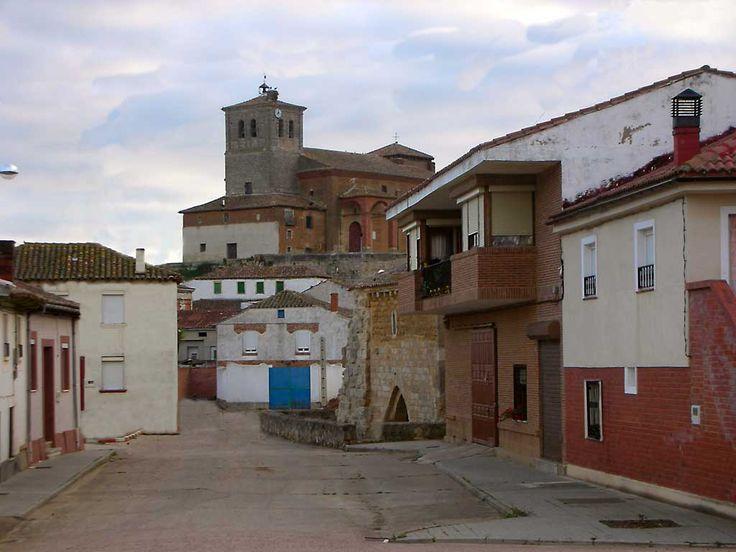 Población de Campos, Palencia, Camino de Santiago
