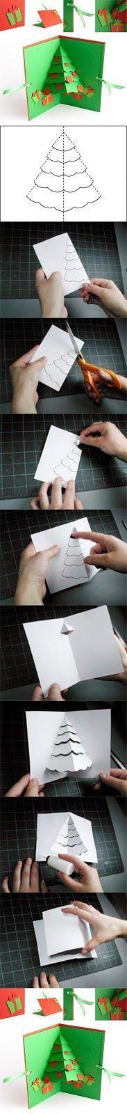 DIY Christmas Tree Pop Up Card | Christmas Special