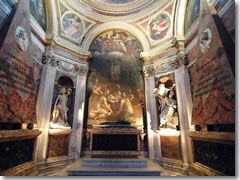The Chigi Chapel in Rome's Santa Maria del Popolo