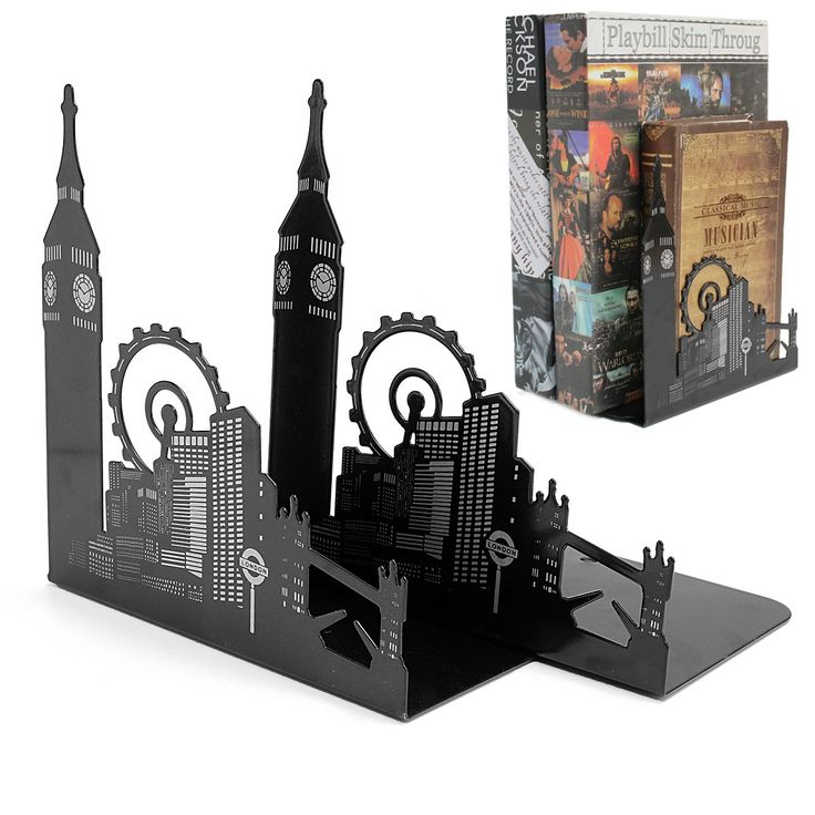 Best 25 book racks ideas on pinterest book rack design for Metal bookends ikea