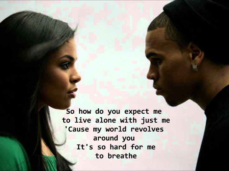 Jordin Sparks Feat. Chris Brown - No Air Lyrics HQ (+playlist)  Everyone needs somebody!!!! To be there!