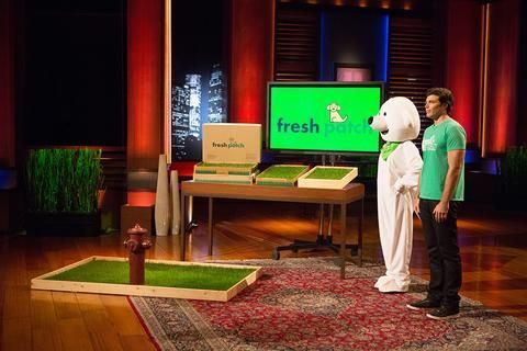 As Seen on Shark Tank. The Fresh Patch XL grass patch is designed for dogs or puppies weighing more than 25 lbs. A great alternative to pee pads.