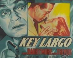 1948 'Key Largo' Original French Film Poster #vintageposters #vintageseekers