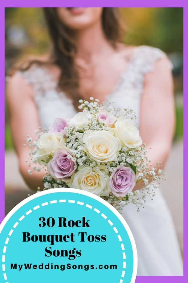 30 Rock Bouquet Toss Songs To Turn Up Loud Your Guests Will Love These RockRock RollWedding