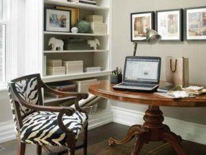 Round Home Office Desk