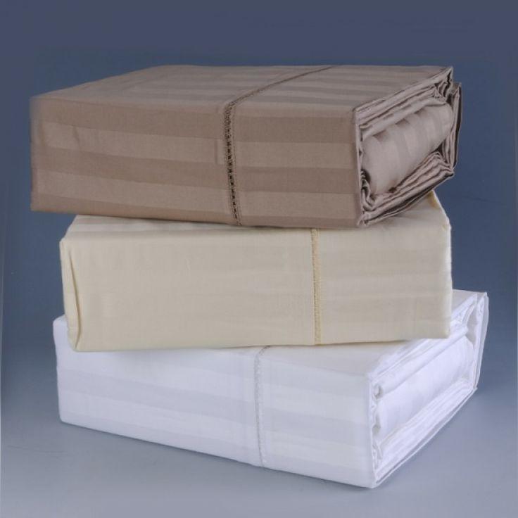 Kingtex 100% Cotton Sateen Sheet Set