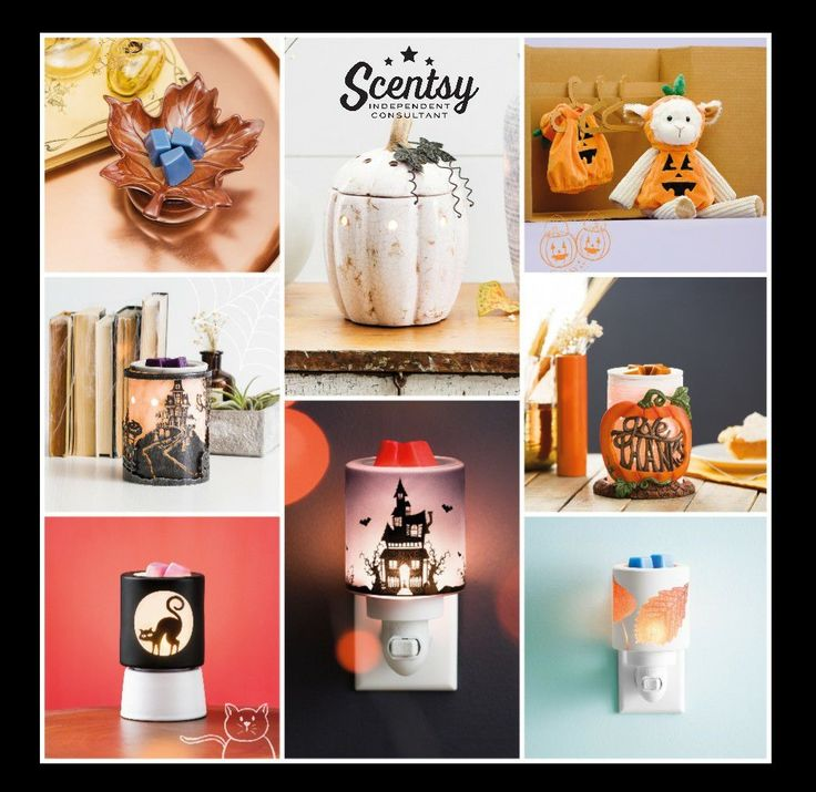Scentsy's NEW Harvest & fall winter Collection for 2017 #wickless #candles #wax #warmers #scentsbykris