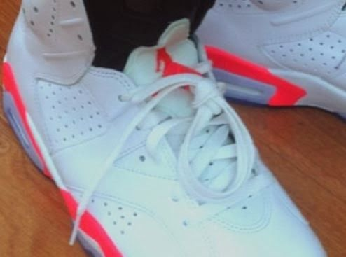 Hot Sale Nike Air Jordan 6 Cheap sale Carmine Glow White Carmine