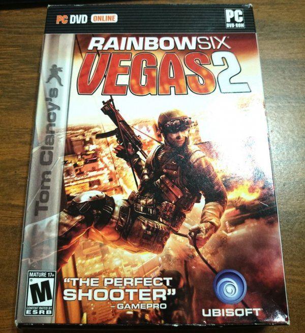 Rainbow Six - Vegas 2 PC-DVD