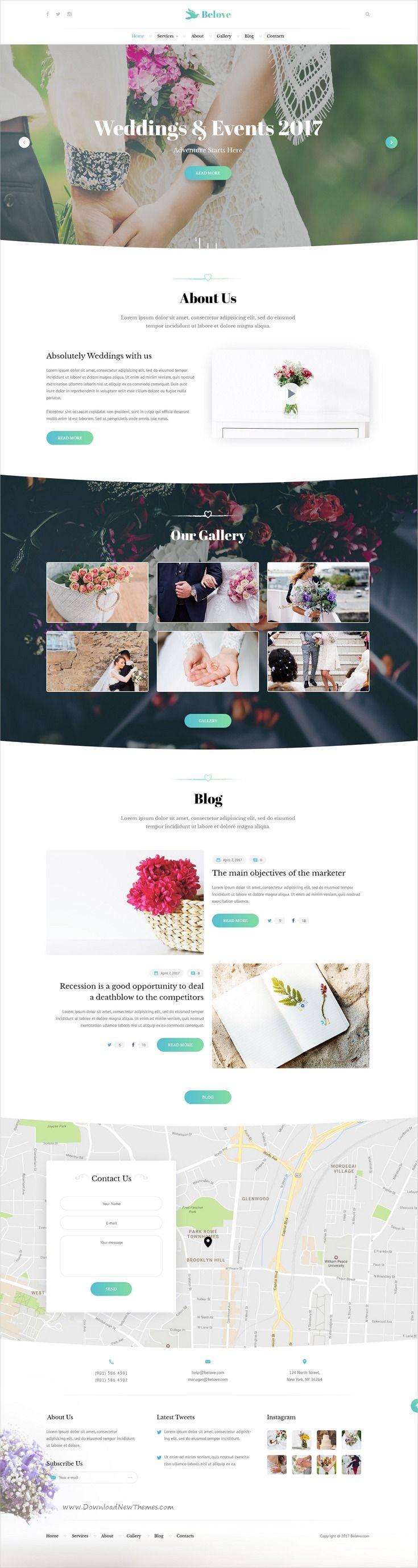 Best Wedding Website Templates Ideas On Pinterest Web Design