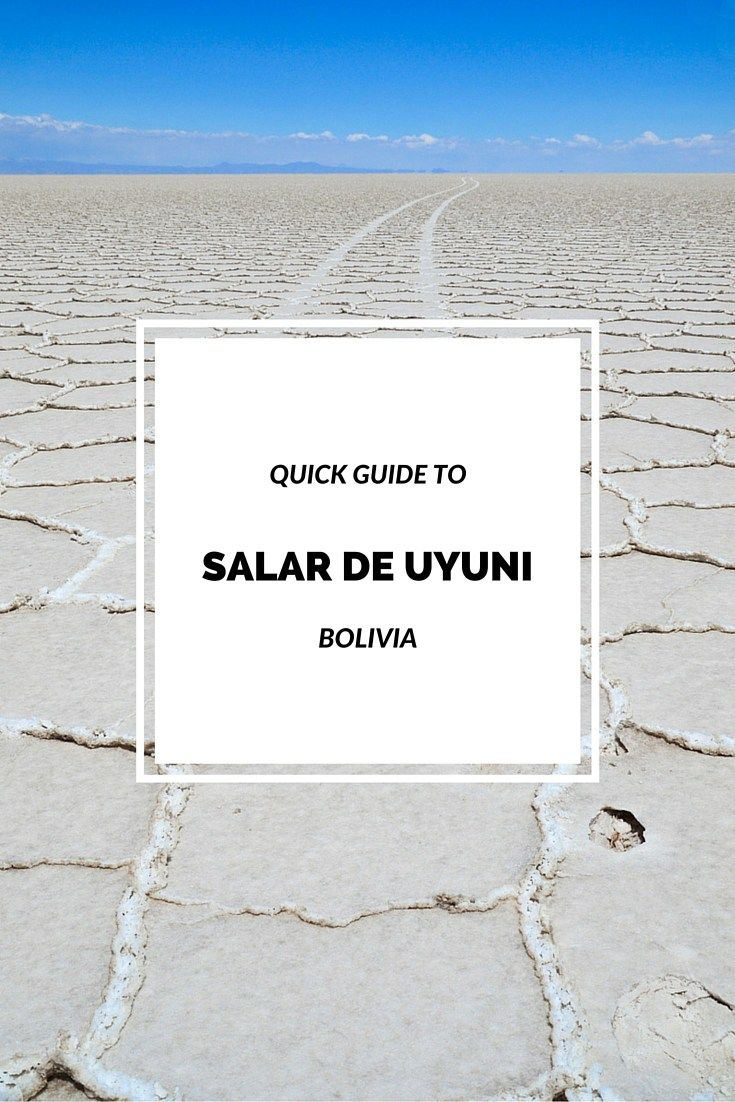 Here is your quick guide to Salar de Uyuni tours that covers the most important facts you need to know before visiting this spectacular place in Bolivia.
