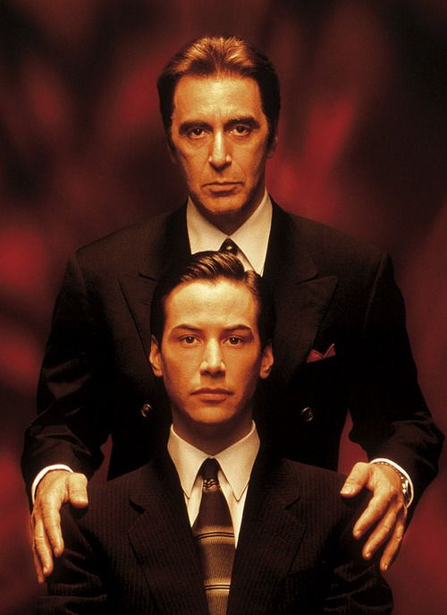 Al Pacino & Keanu Reeves for The Devil's Advocate....This movie is so good!!!