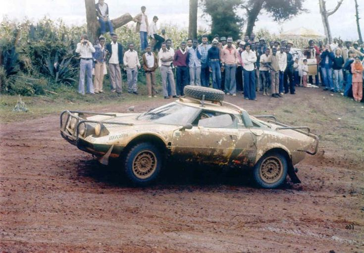 Safari 1977 Munari Sandro - Sodano Piero icon Lancia Stratos HF