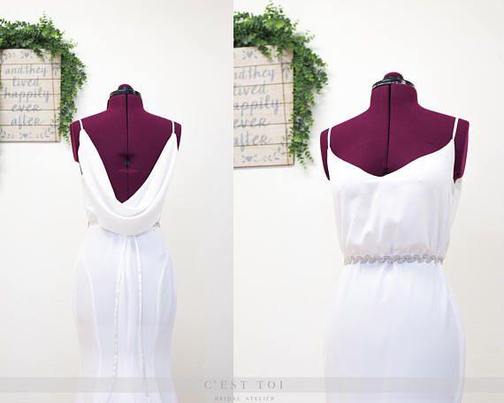 Best 25+ Cowl Wedding Dress Ideas On Pinterest