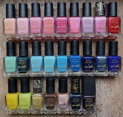 barry m halloween nail polish