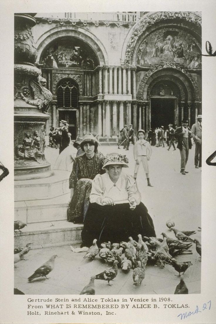April 30, 2013: Digital Object of the Day: Alice B. Toklas was born on this day in San Francisco, in 1877.  The Bancroft Library, UC Berkeley.