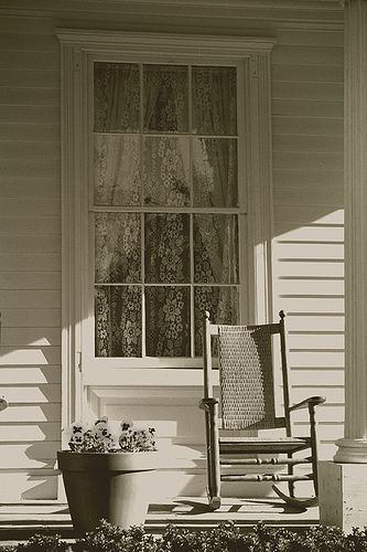 Old Farm House Porch
