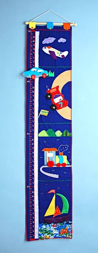 learn and play fabric growth chart