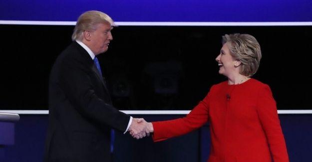 Hillary Clinton ABD'nin yeni Başkanı Donald Trump'ı tebrik etti
