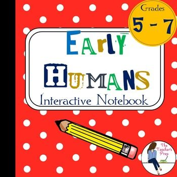 These interactive notebook graphic organizers will help students organize information about early humans - from the Paleolithic Era to the Neolithic Era.Interactive notebooks are an effective tool in the classroom. Not only can they assist students in keeping their work organized, but they are also an easy-to-access resource for reference throughout the year.