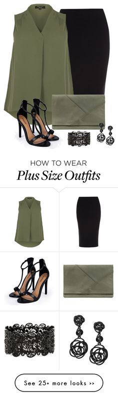 I'm not plus- sized but this outfit is super cute!