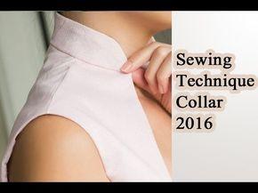 Sewing Technique Collar 2016