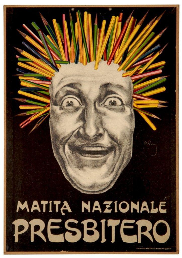 ✔️ Matita Nazionale Presbitero - by Aloi Roberto, 1924/30
