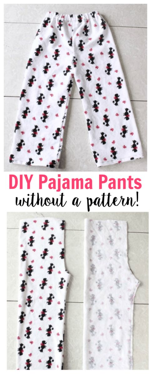 Tips on how to Sew Your Personal Pajama Pants With no Sample