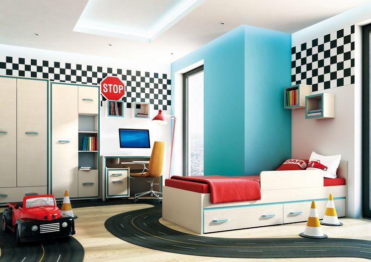 Super pokój prawda? Więcej pomysłów, mebli, dodatków  dzięki którym stworzysz przestrzeń marzeń swojej pociechy, znajdziesz w naszym salonie - http://www.meble-nowrot.pl/meble-mlodziezowe http://pl.bizin.eu/eng/sklep-meblowy-daniela-nowrot-2375781#.VyL8rOT3OjM