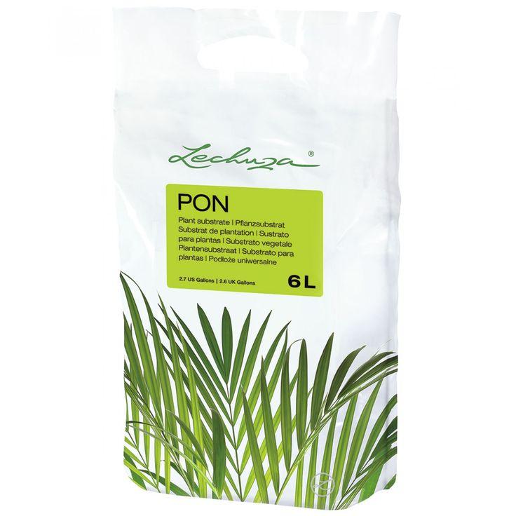 Lechuza Pon 6l sustrato mineral alternativo para la tierra.
