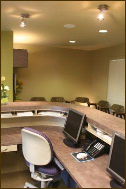 32 best dental images on pinterest design offices for Medical office design